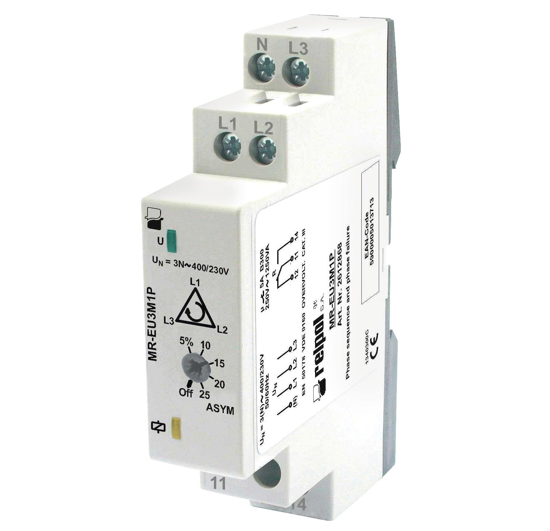 MR-EU3M1P реле контроля многофункциональное