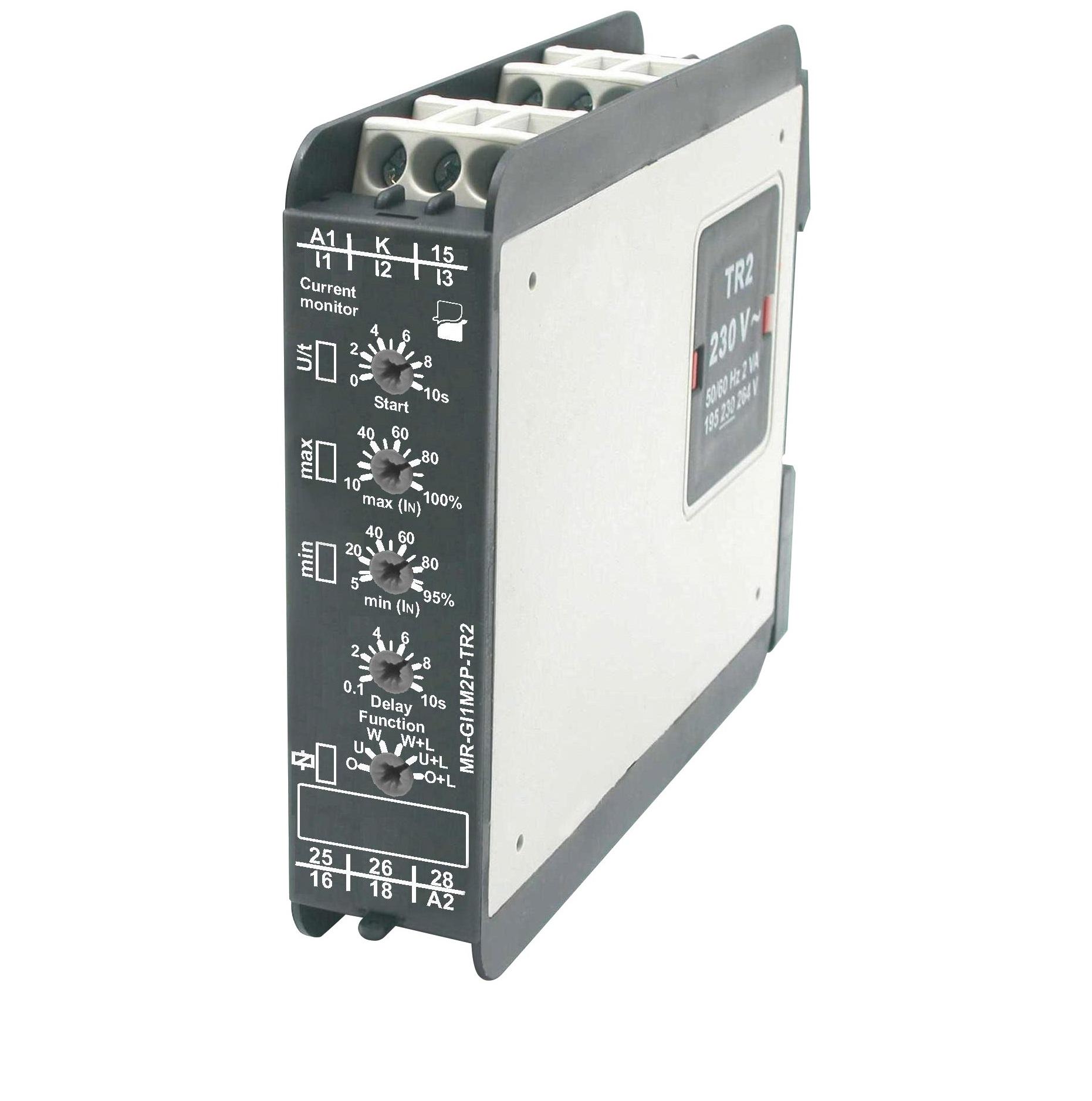 реле контроля тока многофункциональное MR-GI1M2P-TR2