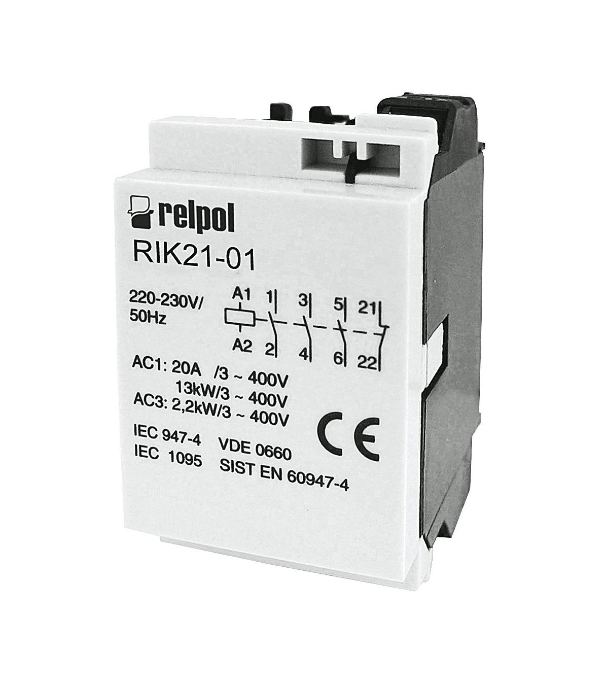 контактор RIK21-01-24