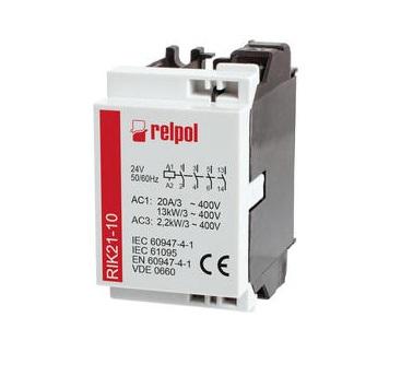 контакторы Relpol купить RIK21-10-24