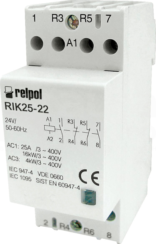 контактор RIK25-22-24