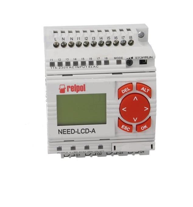 NEED-230AC-2208-4R-D программируемые реле